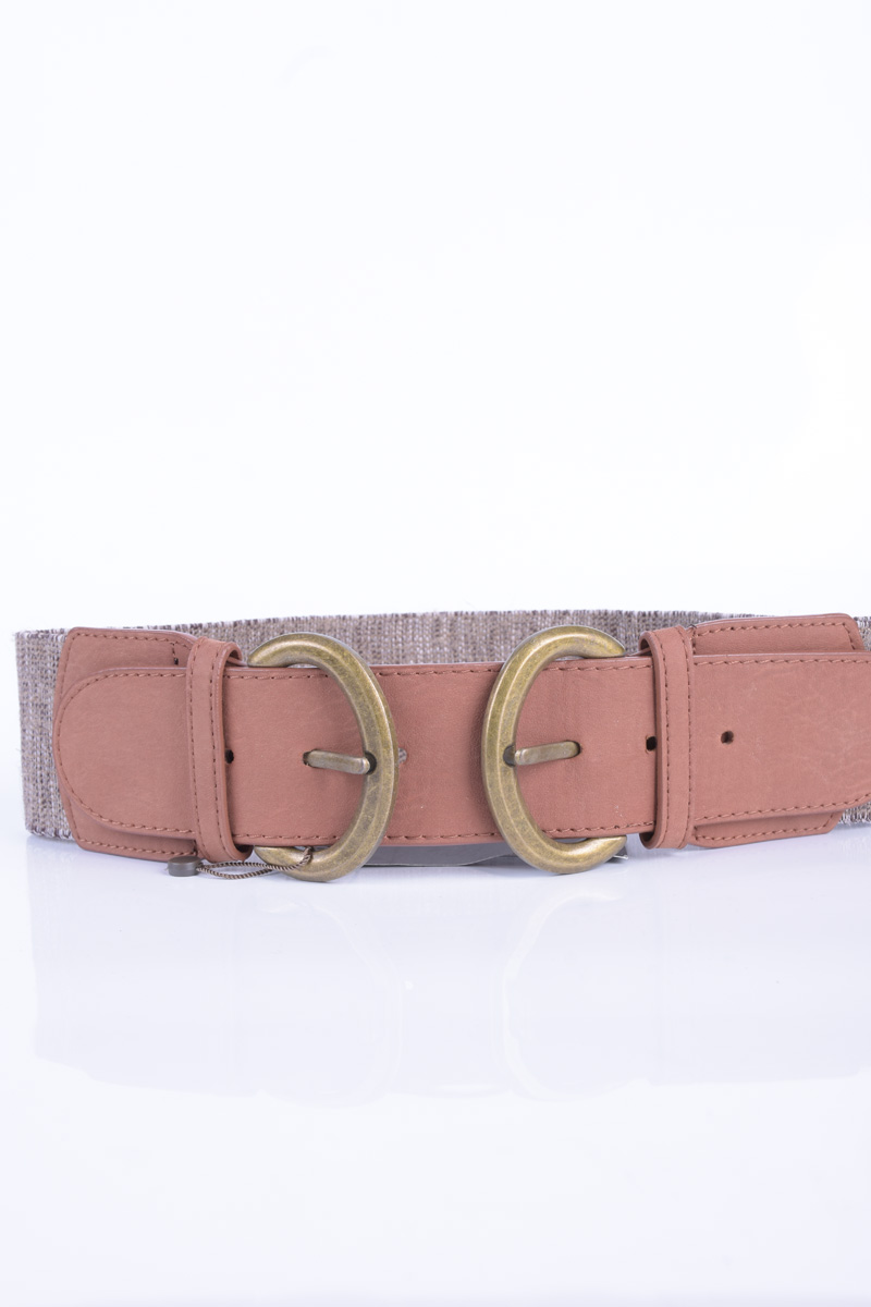 Curea Dama Pieces Lone Waist Belt Cognac