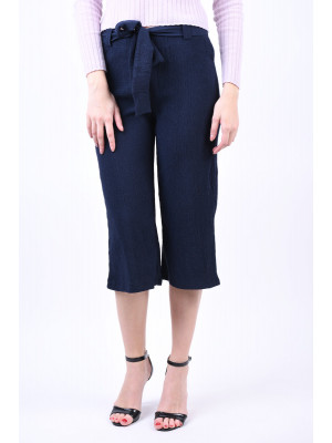 Pantaloni Dama Pieces Harmony Mw Culotte Night Sky