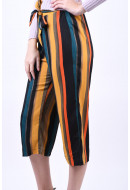 Pantaloni Dama Jacqueline De Young Molly Harvest Gold Stripes