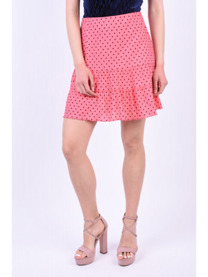 Fusta Only Onlsoffi Calypso Coral Small Dots