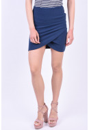 Fusta Only Onlfloria Short Insignia Blue