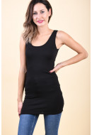 Maieu Dama Vila Officiel Long Tank Black