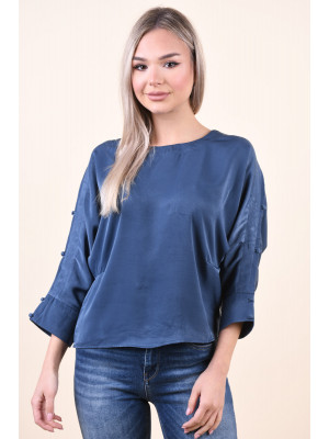 Bluza Dama Only Lava 7/8 Dark Denim