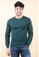 Pulover Barbati Jack&Jones Jprkreon Knit Crew Neck June Bug