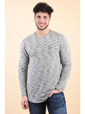 Bluza Barbati Jack&Jones Boris Light Grey Melange
