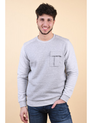 Bluza Barbati Jack&Jones Money Light Grey Melange
