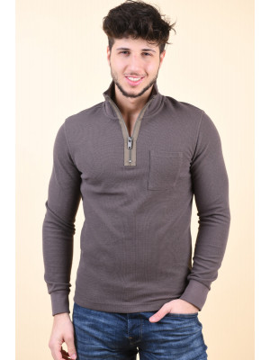 Bluza Barbati Jack&Jones Blastorm High Neck Morel