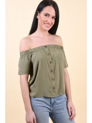 Bluza Dama Eight2Nine D73760M10985Ven Middle Green