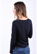 Bluza Dama Vero Moda Sira V-Neck Night Sky