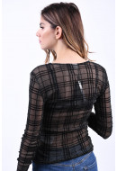 Bluza Dama Noisy May Kaya O-Neck Black