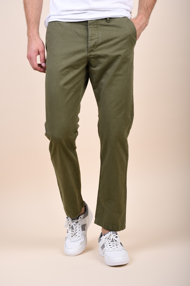 Pantaloni Barbati Jack&Jones Chris Akm789 Olive Night