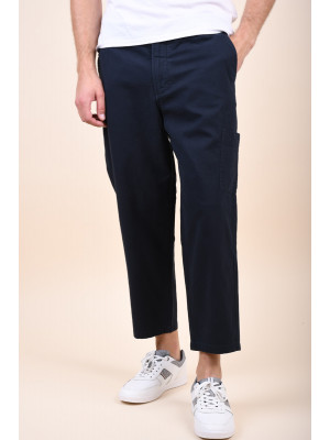 Pantaloni Barbati Selected Chase Crop Sky Captain