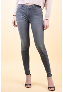 Blugi Dama Selected Gaia High Rise Grey Denim