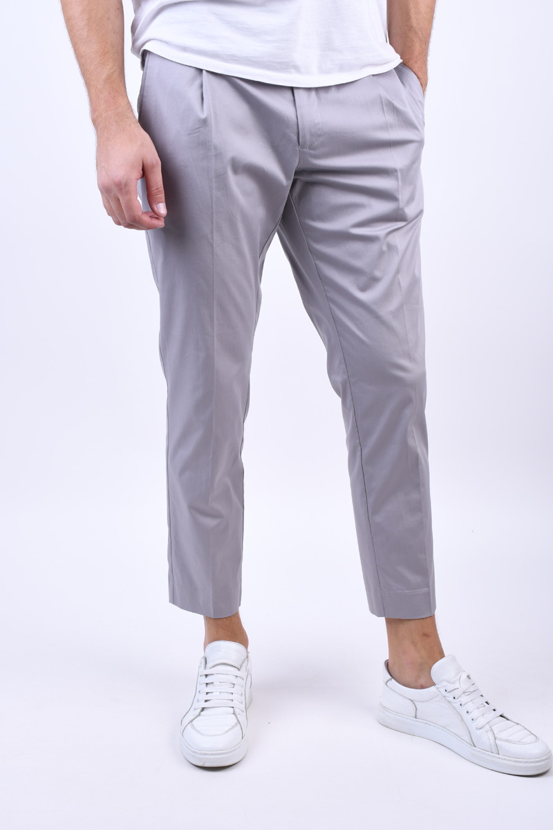 Pantaloni Barbati Jack&Jones Jprace Light Grey Melange