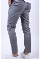 Pantaloni Barbati Selected Slim-Bart Mix Grey Stripes