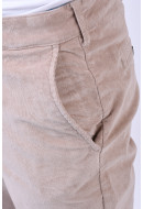 Pantaloni Barbati Selected Tapered-Phil Cord Simply Taupe