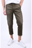 Pantaloni Barbati Selected Special-Nico Green Olive