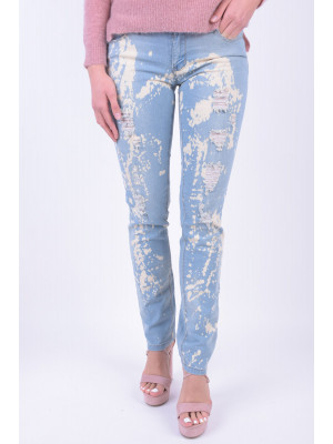 Blugi Dama Carling Jeans 36418 Light Blue Denim