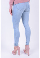 Women Jeans Vero Moda Vmwonder New Nw Skinny Jegging Lb Light Blue Denim