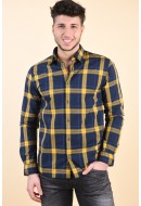 Camasa Barbati Jack&Jones Audio Spicy Mustard