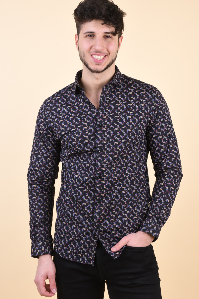 Camasa Barbati Jack& Jones Blackburn Black