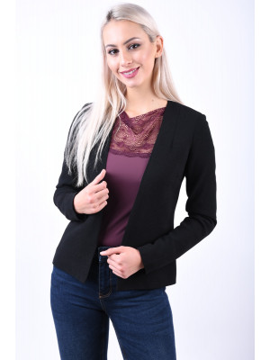 Sacou Dama Pieces Pcnattie Noos Black