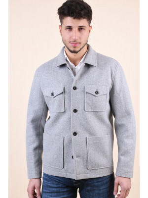 Jacheta Barbati Only&Sons Calvin Worker Light Grey Melange