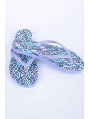 Slapi Plaja Dama Pieces Psvera Kelim Flip Flop Beach Kentucky Blue