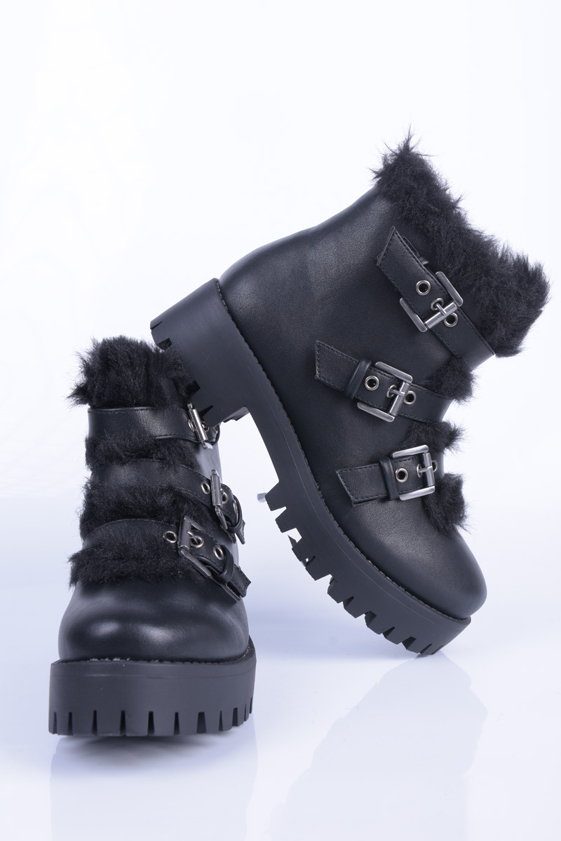 Ghete Dama Pieces Psdominika Boot Black